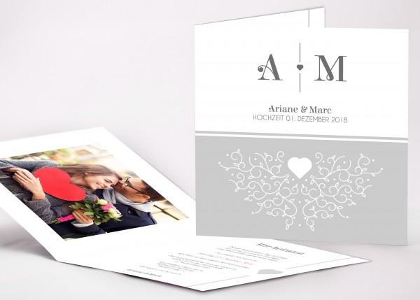 Einladungskarte Ariane