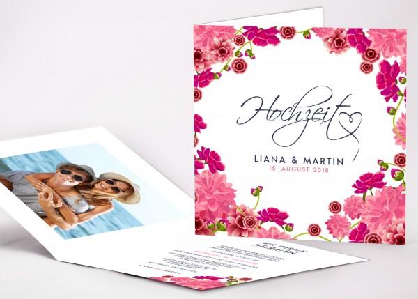 Einladungskarte Liana