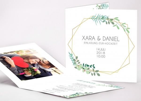 Einladungskarte Xara