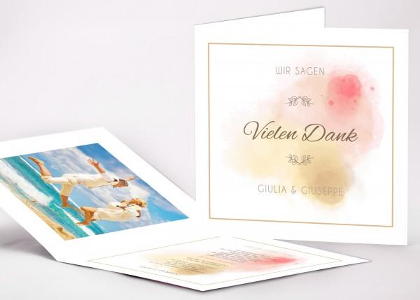 Danksagungskarte Giulia