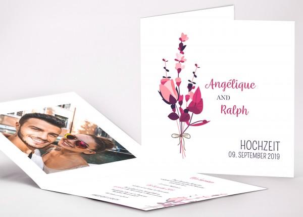 Einladungskarte Angelique