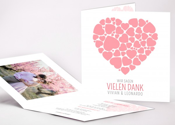 Danksagungskarte Vivian