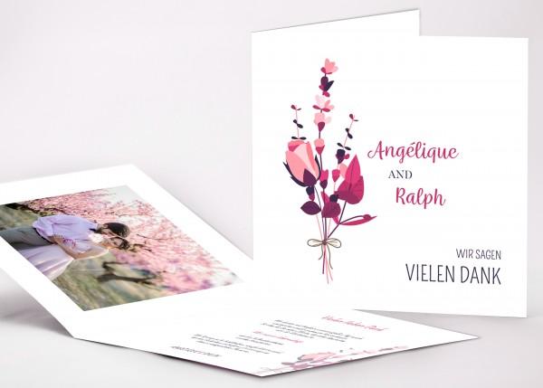 Danksagungskarte Angelique