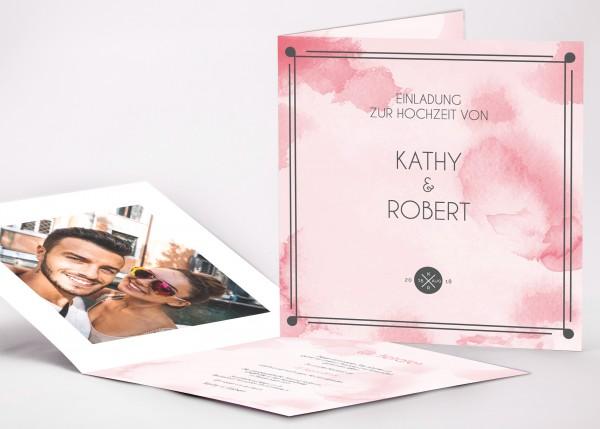 Einladungskarte Kathy