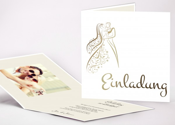 Einladungskarte Adele