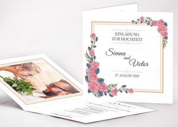 Einladungskarte Sienna