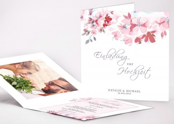 Einladungskarte Natalie