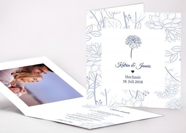 Einladungskarte Katrin