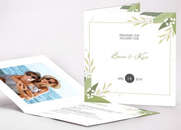 Einladungskarte Louisa