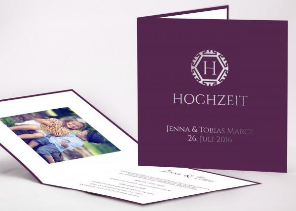 Einladungskarte Sophie