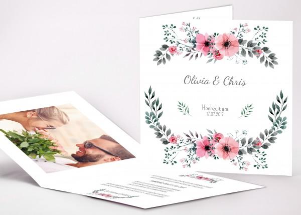 Einladungskarte Olivia