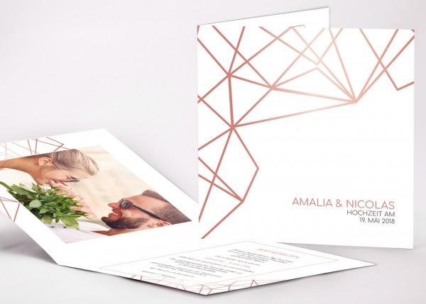 Einladungskarte Amalia