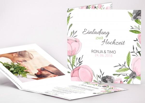 Einladungskarte Ronja