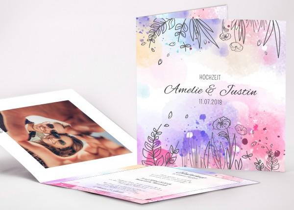 Einladungskarte Amelie