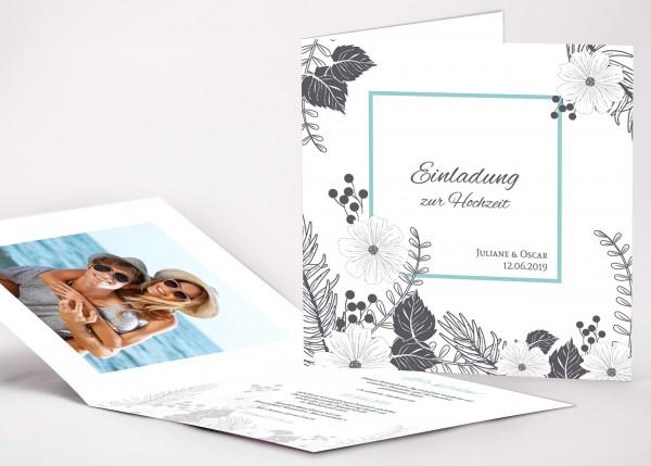 Einladungskarte Juliane