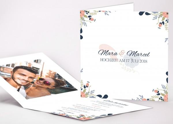 Einladungskarte Mara