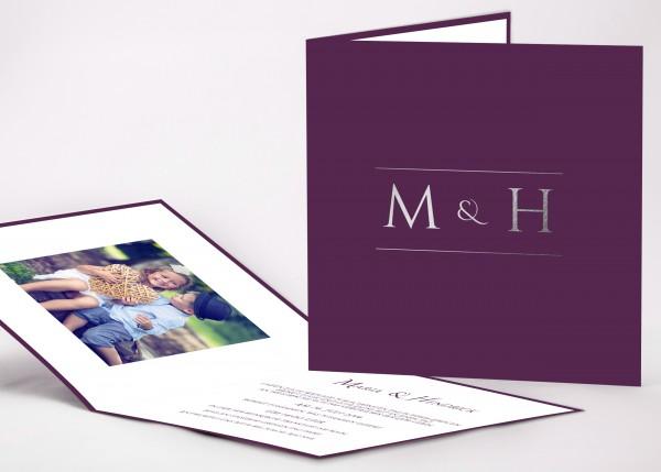 Einladungskarte Mia