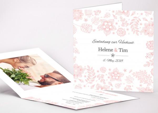Einladungskarte Helene