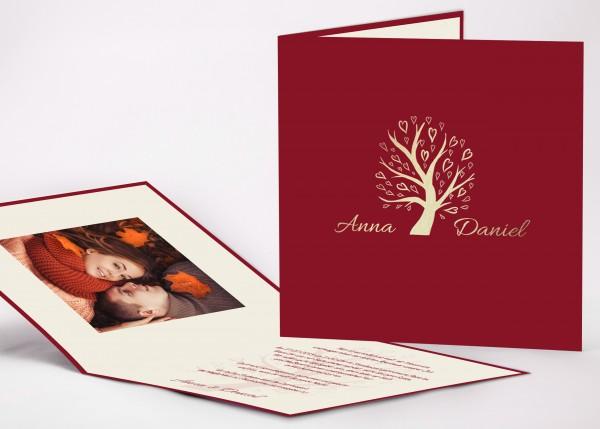 Einladungskarte Anna