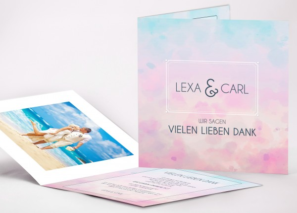 Danksagungskarte Lexa