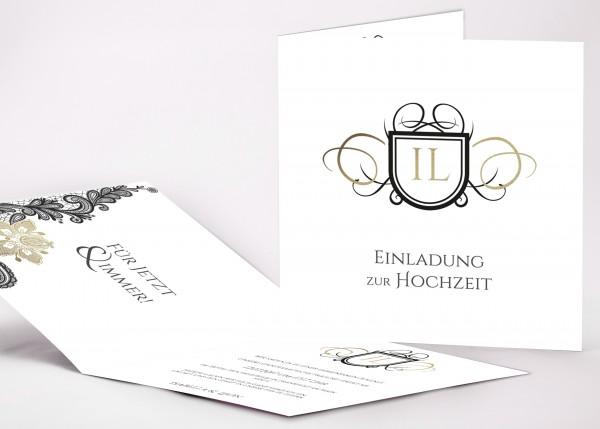 Einladungskarte Isabella