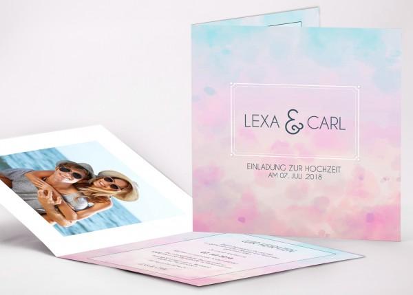 Einladungskarte Lexa