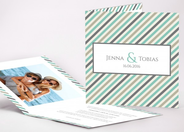 Einladungskarte Jenna