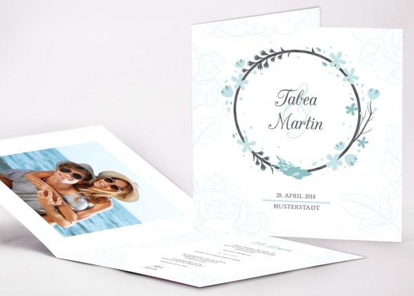 Einladungskarte Tabea