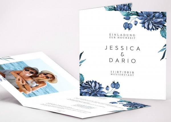 Einladungskarte Jessica