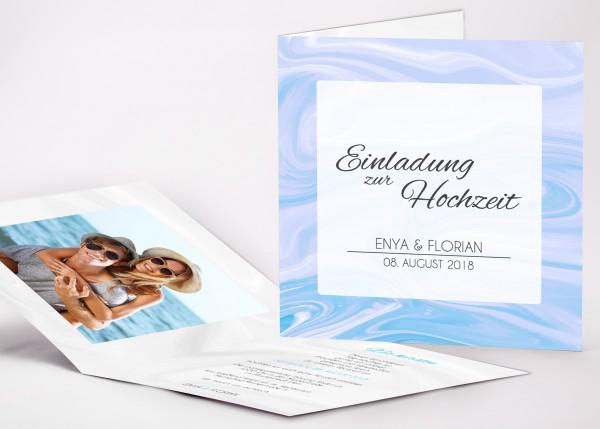 Einladungskarte Enya