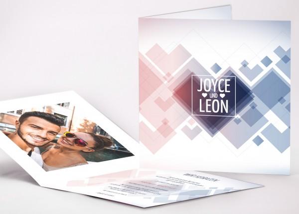Einladungskarte Joyce