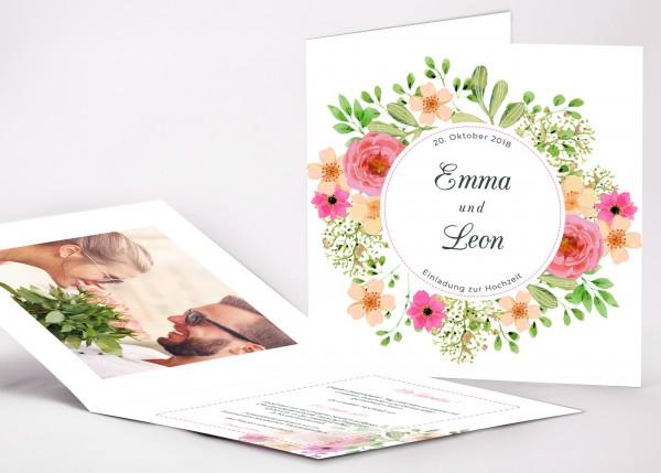 Einladungskarte Emma