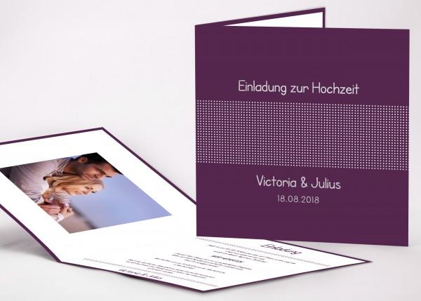 Einladungskarte Victoria