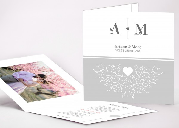 Danksagungskarte Ariane