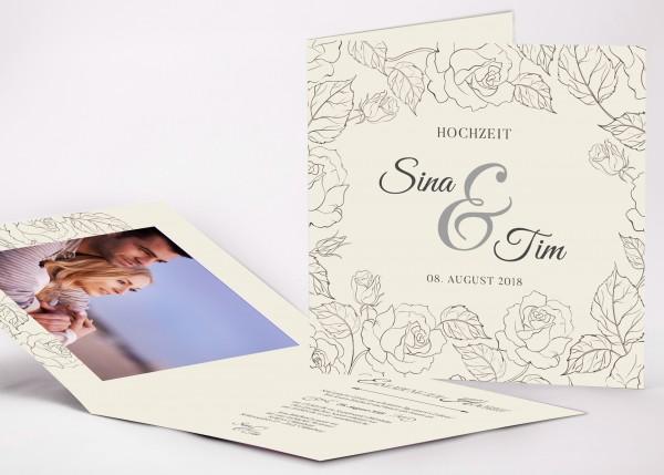 Einladungskarte Sina