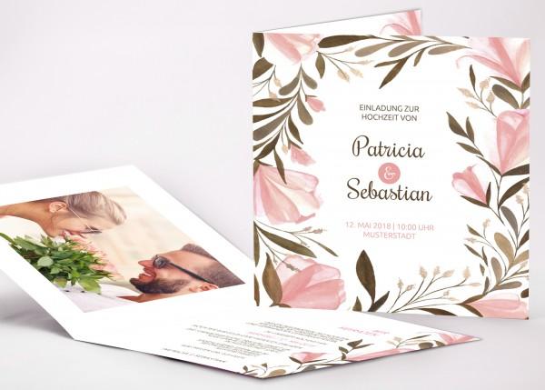 Einladungskarte Patricia