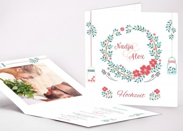 Einladungskarte Nadja